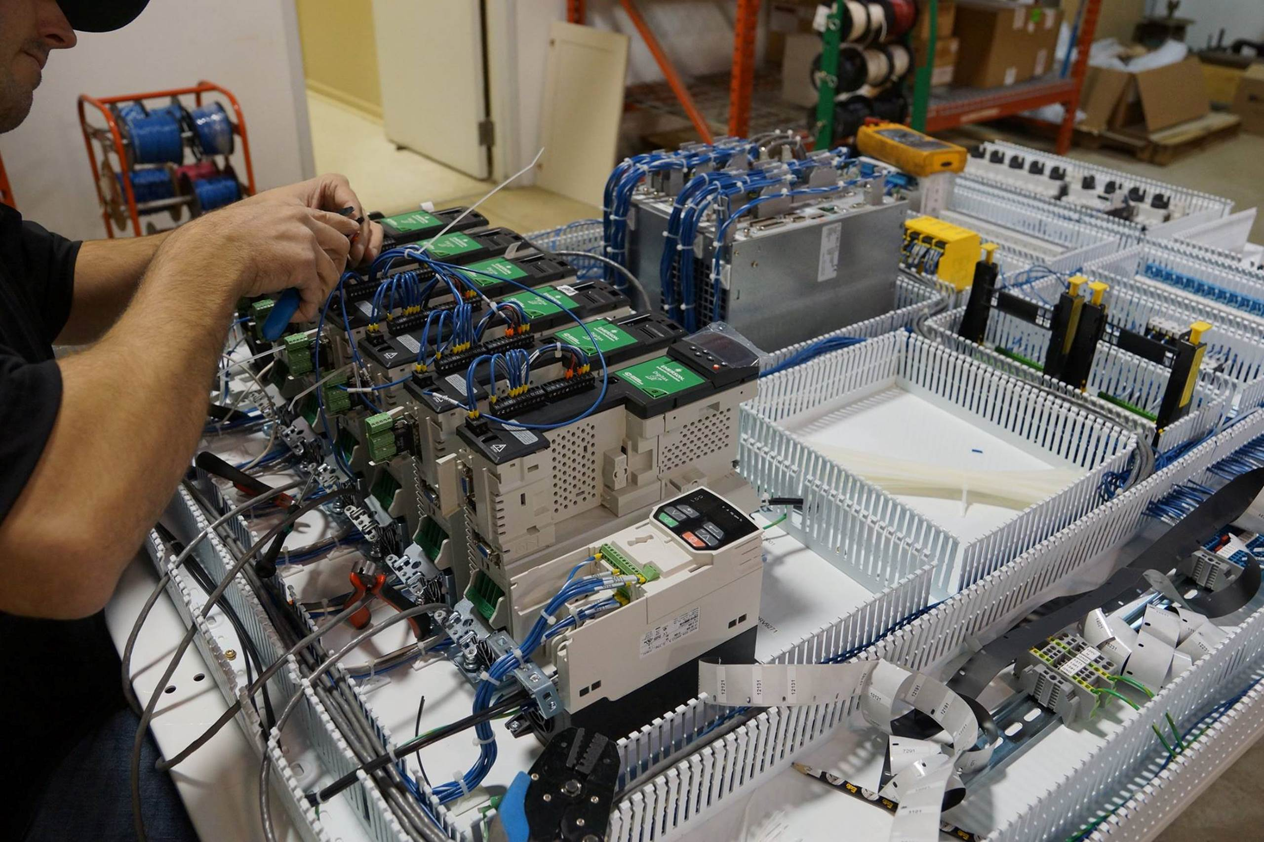 Control Panel Fabrication Control Works