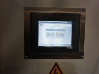 Panel door touch screen